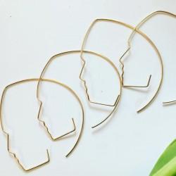 Face Rings twarzowe kolczyki
